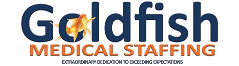 Goldfish Medical Staffing Logo
